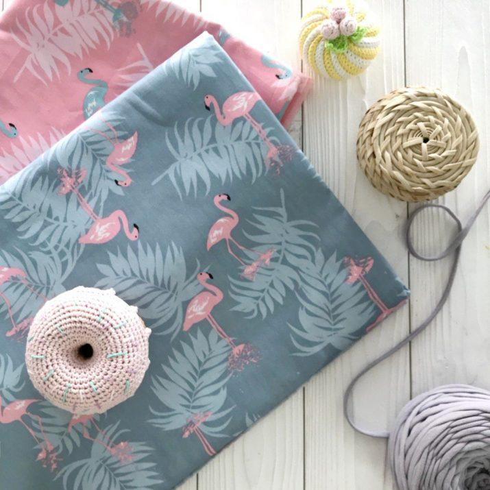 Тканей для пошива детской одежды, пеленок, постельного белья