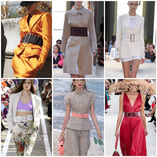 Как подобрать ремень женский и с чем носить